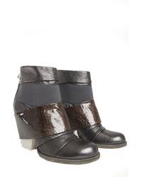 Ld Tuttle Bandage Boot Gunmetal gray - Lyst