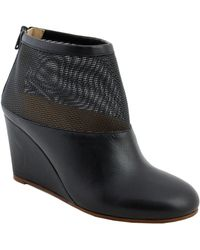 MM6 by Maison Martin Margiela Wedge-Boots - Lyst
