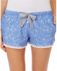 DKNY Pier Side Lounging Boxer Shorts - Lyst