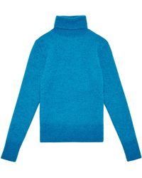 Raf Simons Mens Knitted Narrow Fit Rollneck Sweater - Lyst