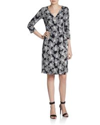 Diane Von Furstenberg New Julian Two Silkjersey Wrap Dress - Lyst