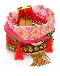 Hipanema - Happiness Bracelet Pink Multi - Lyst