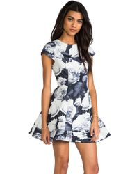 Keepsake Adventure Dress in Gray - Lyst