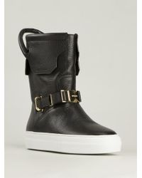 Buscemi - Safety Buckle Boots - Lyst