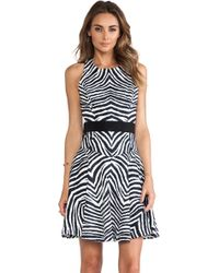 Milly Circle Dress - Lyst