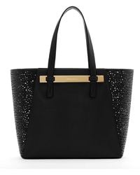 Vince Camuto Jace Leather Tote Bag - Lyst