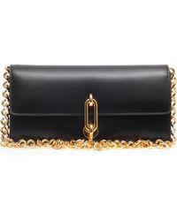 Balenciaga Maillon Gold-chain Clutch - Lyst