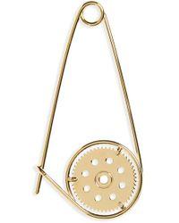 Loewe | 'meccano' Pin Bag Charm - Metallic | Lyst