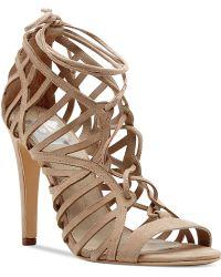 Dolce Vita Dv By Tessah Lace-Up Dress Sandals - Lyst