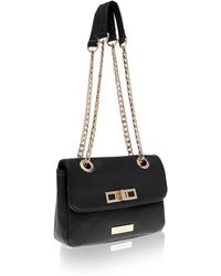 Carvela Kurt Geiger Coco Across Body Lock Bag - Lyst