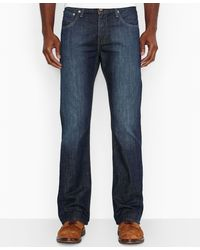 Levi's 527 Slim Bootcut Fit Highway Jeans - Lyst