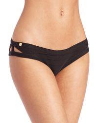 Hervé Léger | Knit Bikini Bottom | Lyst