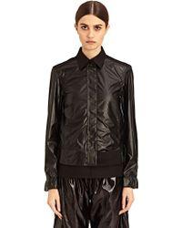 Paco Rabanne New Season - Womens Shiny Stripe Jacket - Lyst