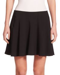 The Row Vicky Jersey Circle Skirt black - Lyst