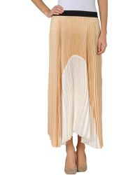 Silk And Soie Long Skirt - Lyst