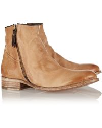 NDC Sidney Washed-Leather Ankle Boots - Lyst