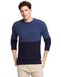 Tommy Hilfiger Colorblock Sweater - Lyst