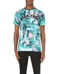 Been Trill - Moon Stretch-jersey T-shirt - Lyst