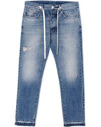 Andrea Pompilio Denim Pants blue - Lyst