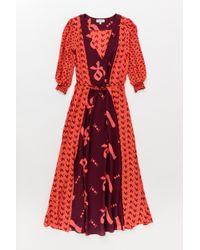Lemlem | Adia Long Dress Mixed (pre-sale) | Lyst