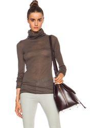 Enza Costa Cashmere Turtleneck Sweater - Lyst
