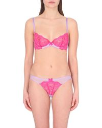 L'agent By Agent Provocateur Felicitia Non-Padded Plunge Bra - For Women - Lyst