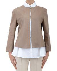 DROMe Leather-Jacket - Lyst