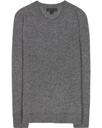 Burberry Prorsum Cashmere and Silkblend Sweater - Lyst