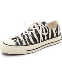 Converse All Star 70s Oxford Sneakers  Zebra - Lyst