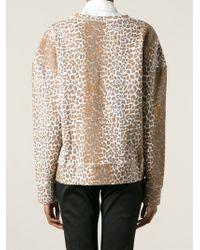 Rika - Leopard Print Sweatshirt - Lyst