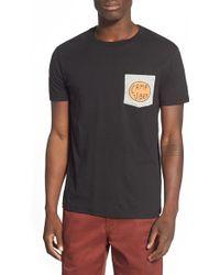 Poler Stuff - 'camp Vibes' Graphic Pocket T-shirt - Lyst