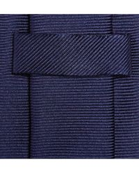 Turnbull & Asser Ribbed Silk Tie - Lyst