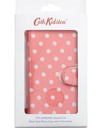 Cath Kidston Pink Spot Galaxy Samsung Galaxy S4 Phone Case - Lyst