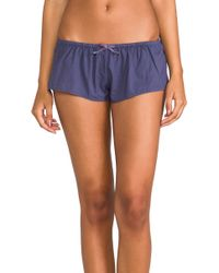 Xirena Shaya Sleep Short in Blue - Lyst