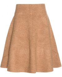 Acne Studios Dancer Boiled Wool Skirt - Lyst