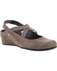 Vaneli For Jildor Marjory Wedge Taupe Lizard - Lyst