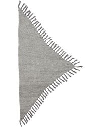 Bickley + Mitchell - Fringe Shawl - Grey Twist - Lyst