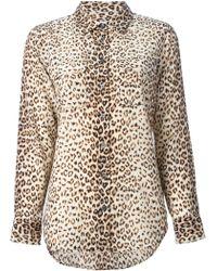 Equipment Leopard Print Shirt - Lyst