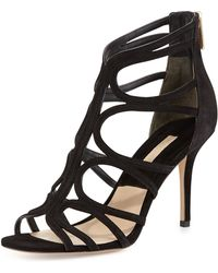 Michael Kors Norma Strappy Cage Sandal - Lyst