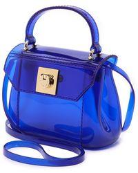 Furla Candy Bon Bon Mini Cross Body Bag  Ocean - Lyst