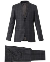 Gucci Dylan Check Singlebreasted Suit - Lyst