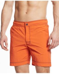 Tommy Hilfiger Anchor Swim Trunks - Lyst