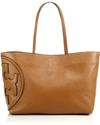 Tory Burch All-T East West Tote brown - Lyst