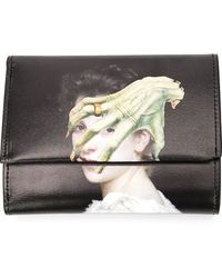 Undercover - Printed Leather Wallet - Lyst