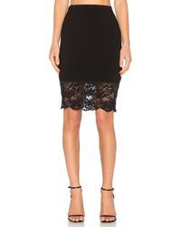 Fifteen Twenty | Sequined Lace Skirt | Lyst