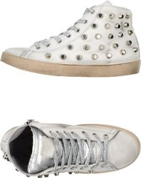 Beverly Hills Polo Club - Giant-Studded High-Top Sneakers - Lyst