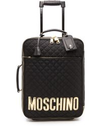 Moschino - Suitcase - Black - Lyst