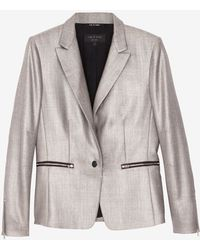 Rag & Bone Alpine Zipper Detail Blazer - Lyst