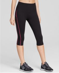 Spanx - Spanx® Active Compression Contrast Stitch Knee Pants - Lyst