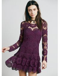 Free People Night Out Dress - Lyst